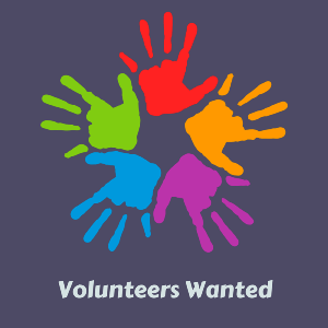 Volunteers Wanted Graphic