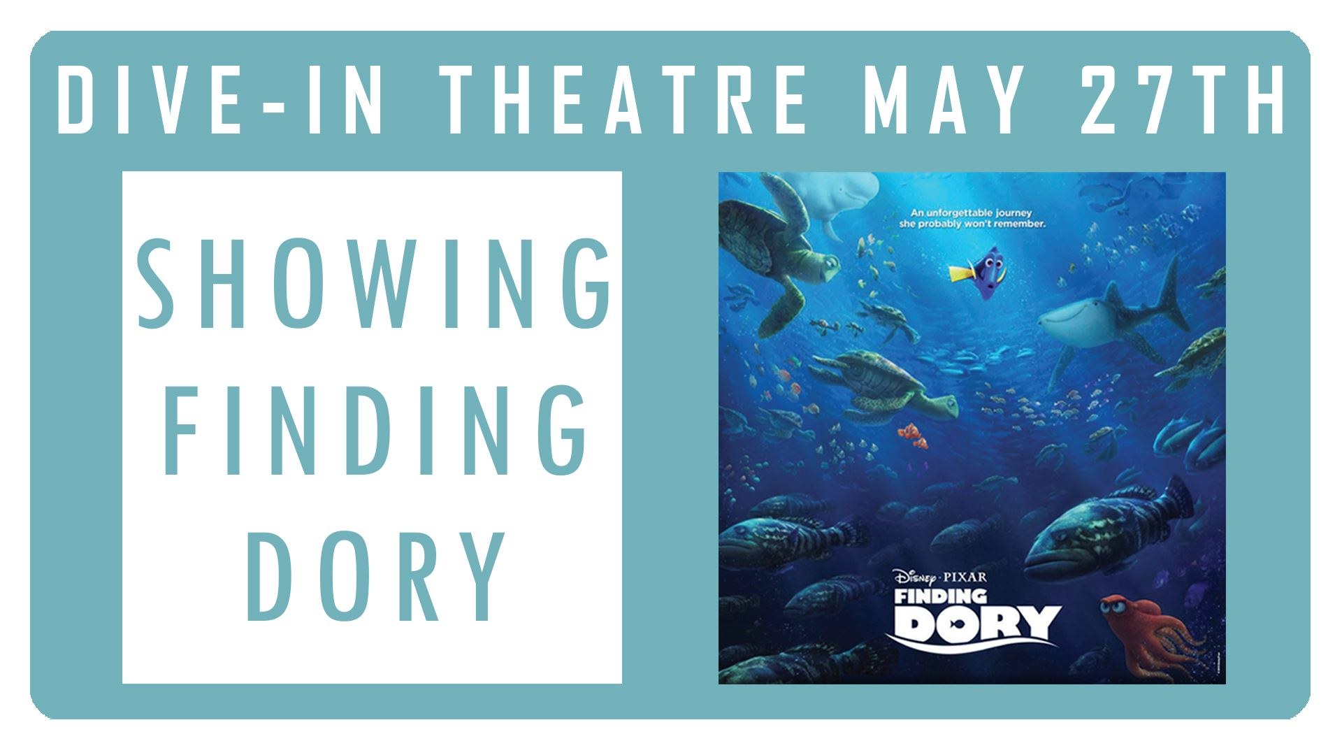 Finding Dory Facebook Event Image