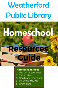Homeschool Resource Guide Booklet Image and Link
