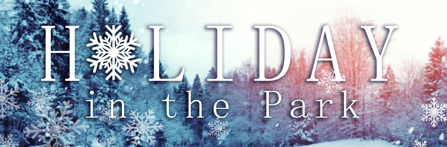 Holiday in the Park Website Banner