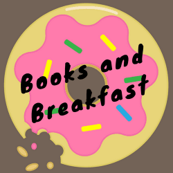 Books and Breakfast Graphic