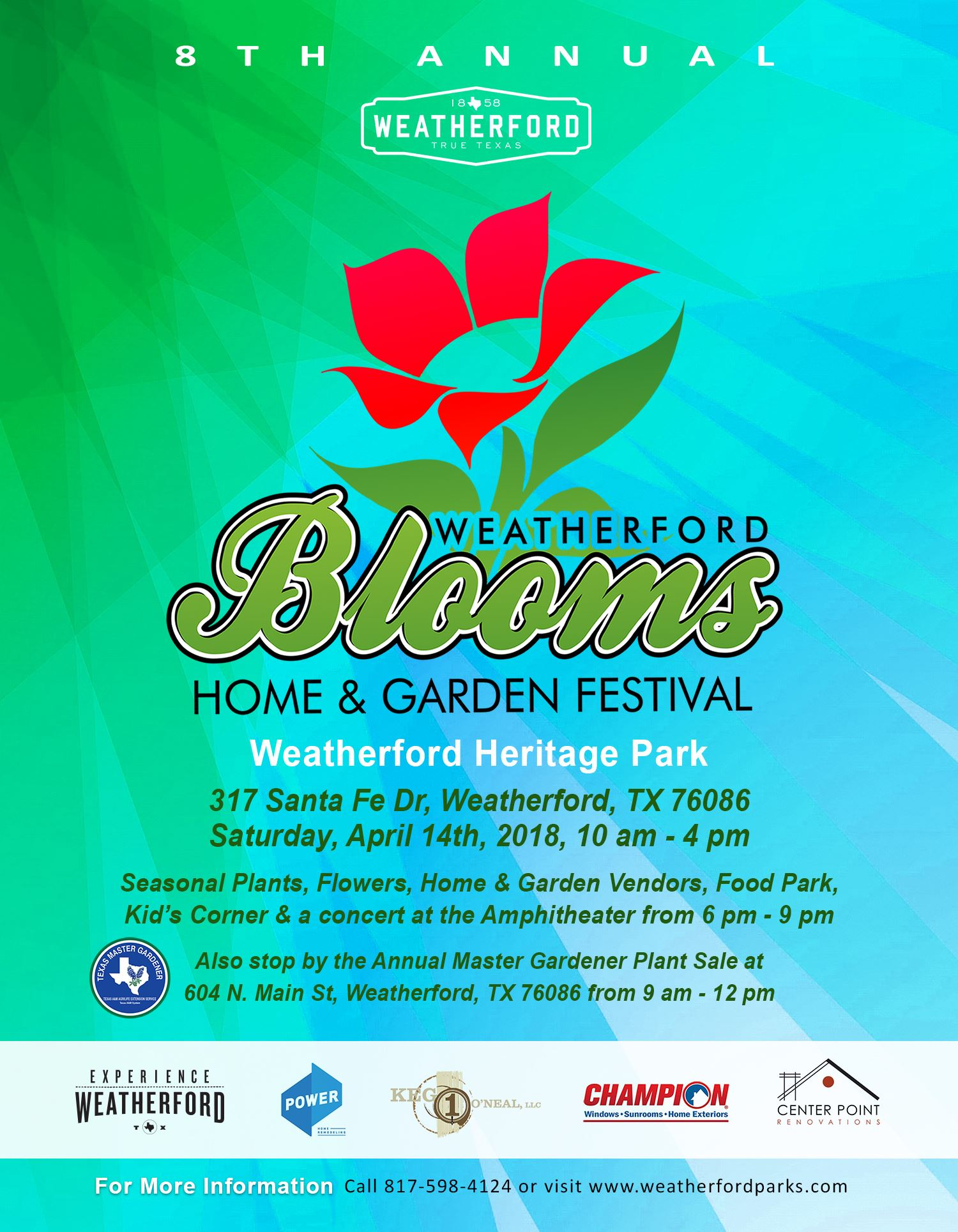 Blooms Flyer Small