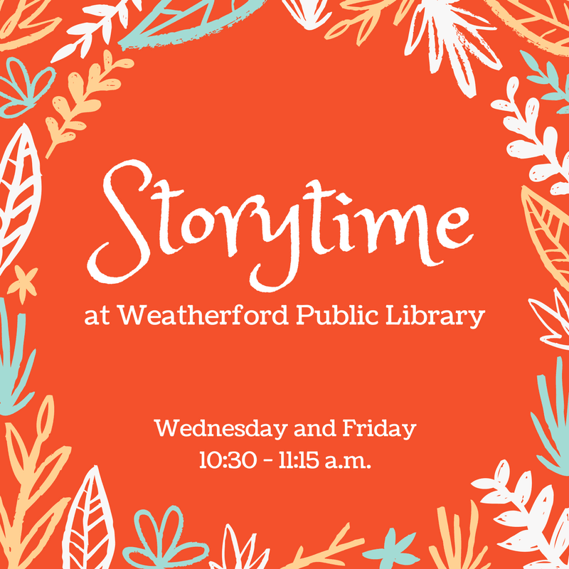 Storytime Summer 2018 Graphic