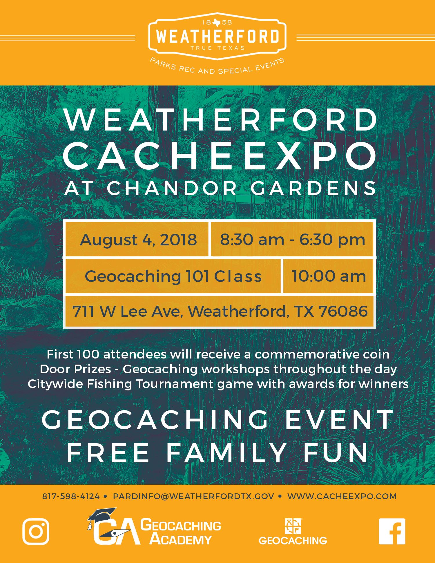 CacheExpo at Chandor