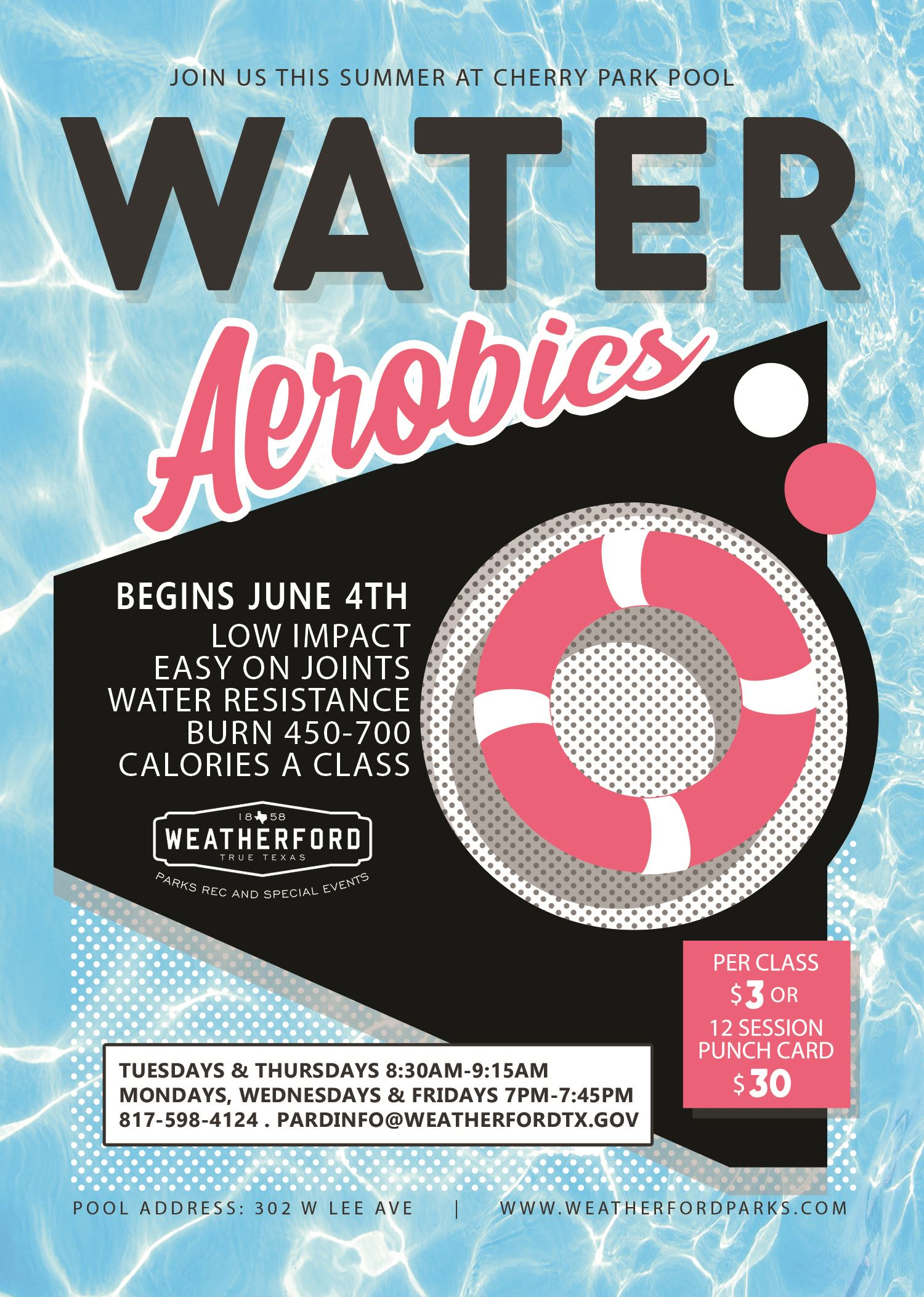 Water Aerobics Flyer small file