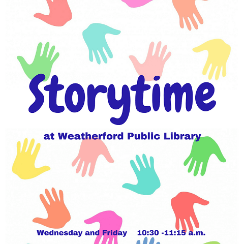 Storytime hands 2018