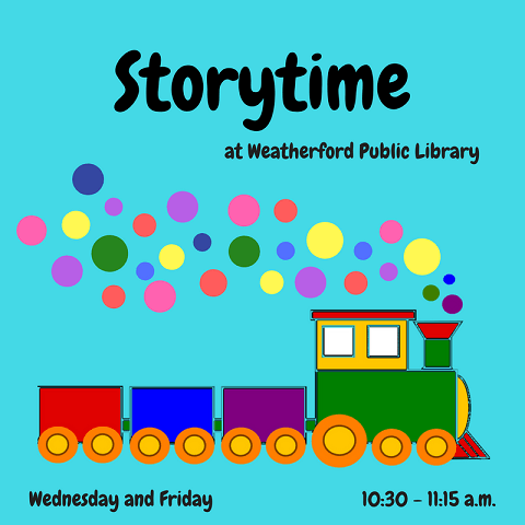 Storytime Train 2018 Image