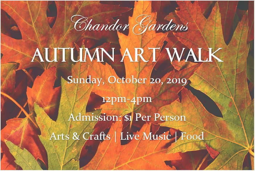 Autumn Art Walk 2019