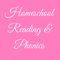 Homeschool Reading Phonics Button Image