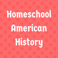 Homeschool American History Button Image