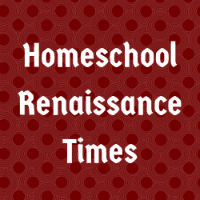 Homeschool Renaissance Times Button Image