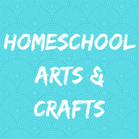 Homeschool Arts Crafts Button Image