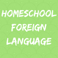 Homeschool Foreign Language Button Image