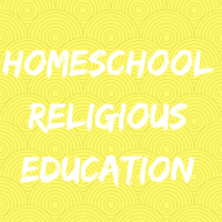 Homeschool Religious Education Button Image