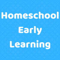Homeschool Early Learning Button Image
