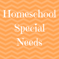 Homeschool Special Needs Button Image