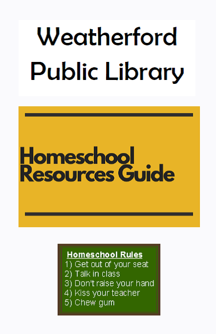 Homeschool Booklet Image