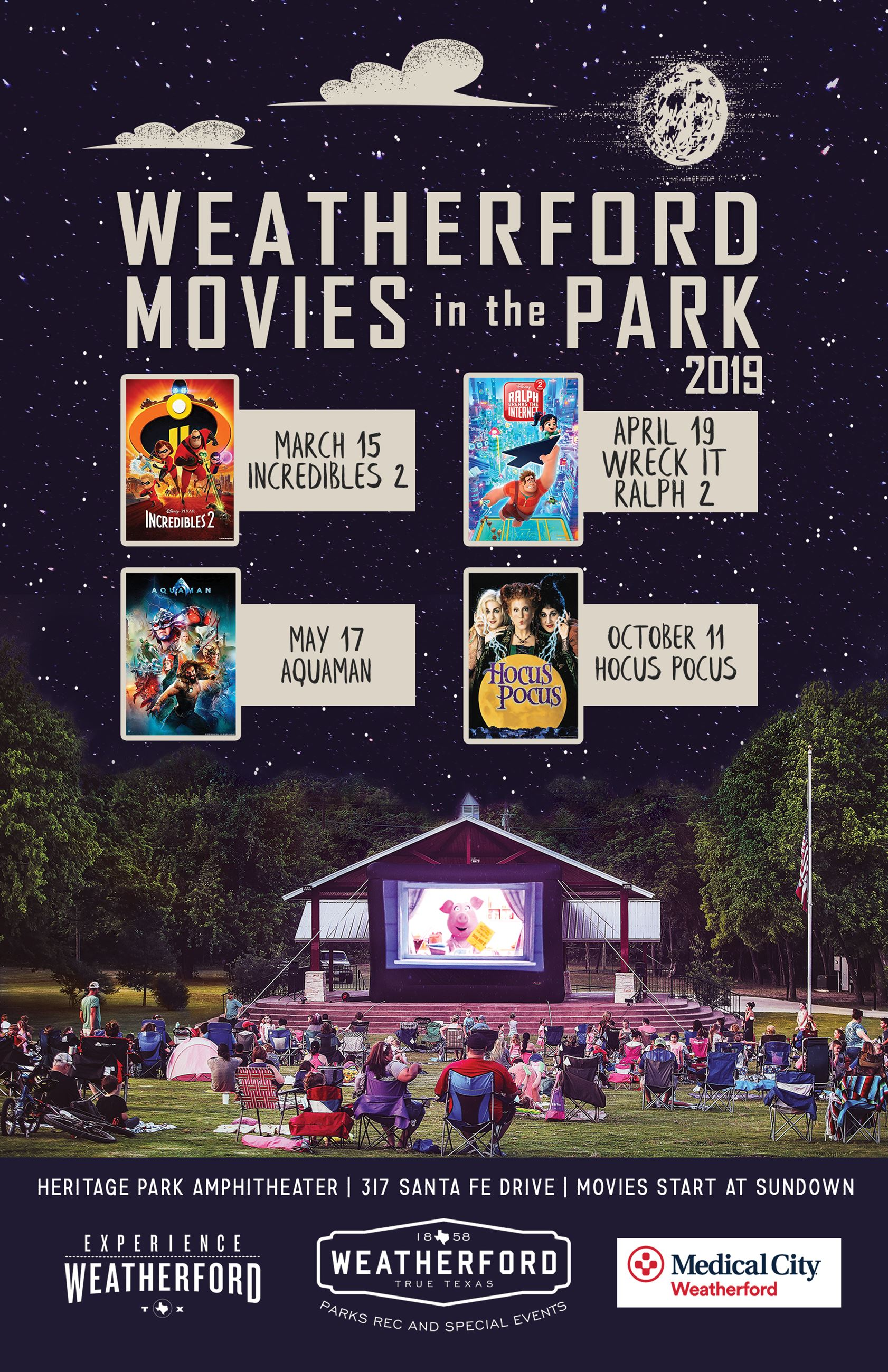 Movies in the Park Poster 11x17 smaller file