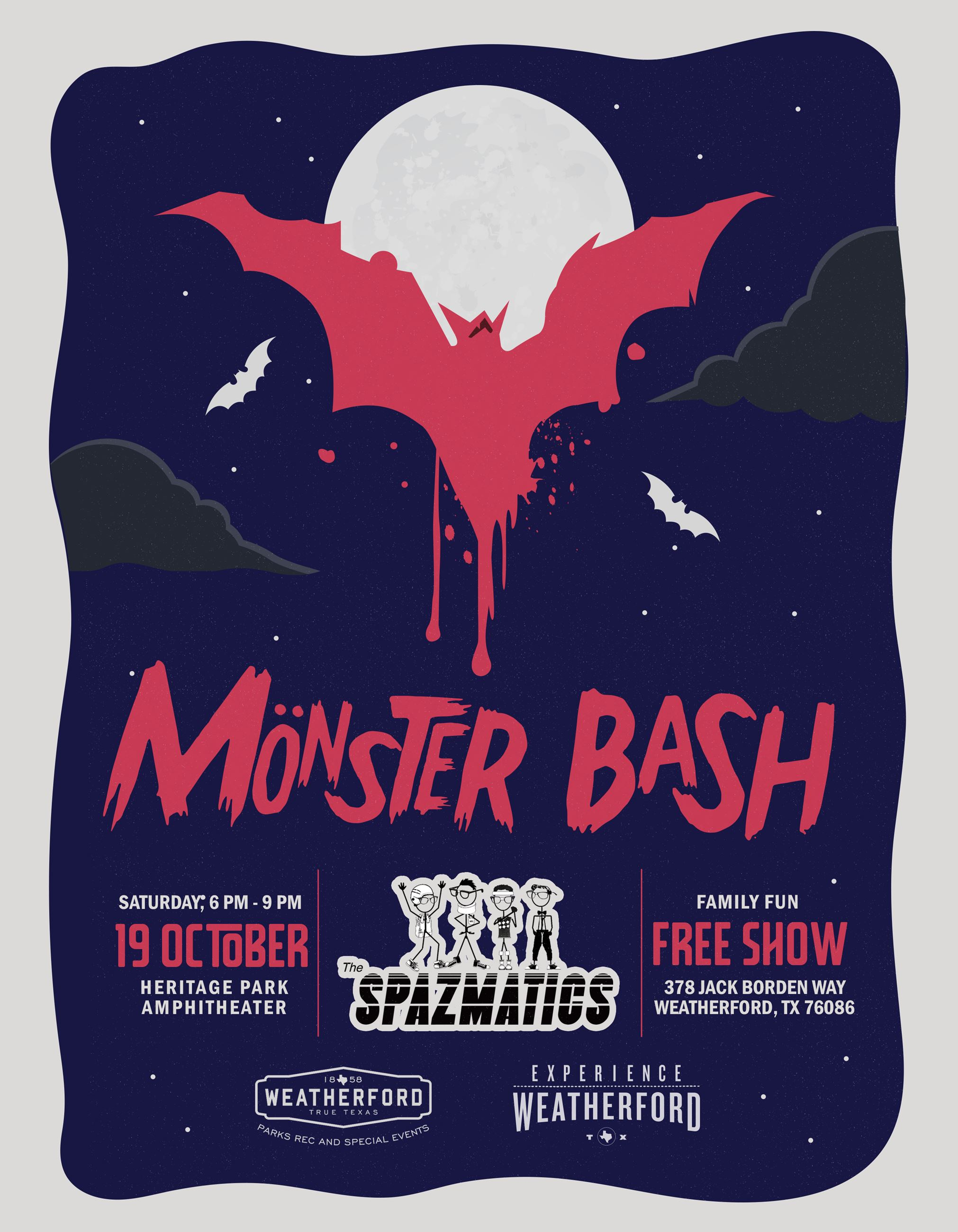 45 Concert Monster Bash