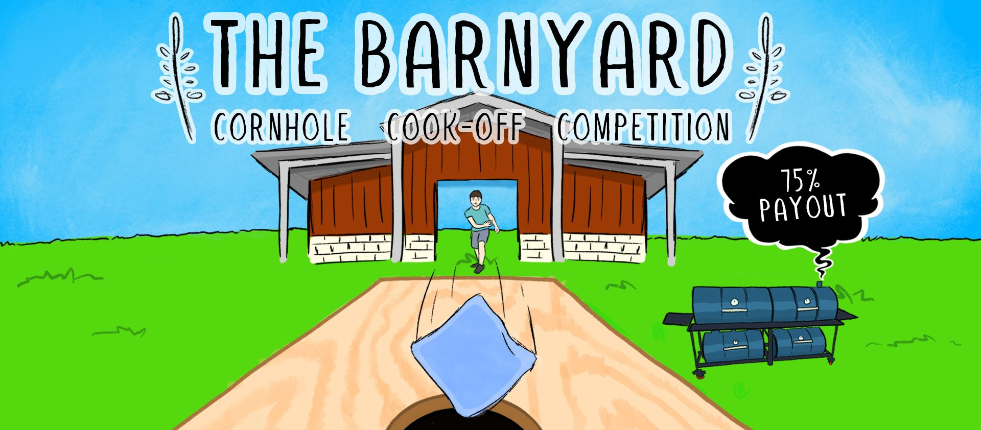 The Barnyard Cornhole Cook-Off Competition 2
