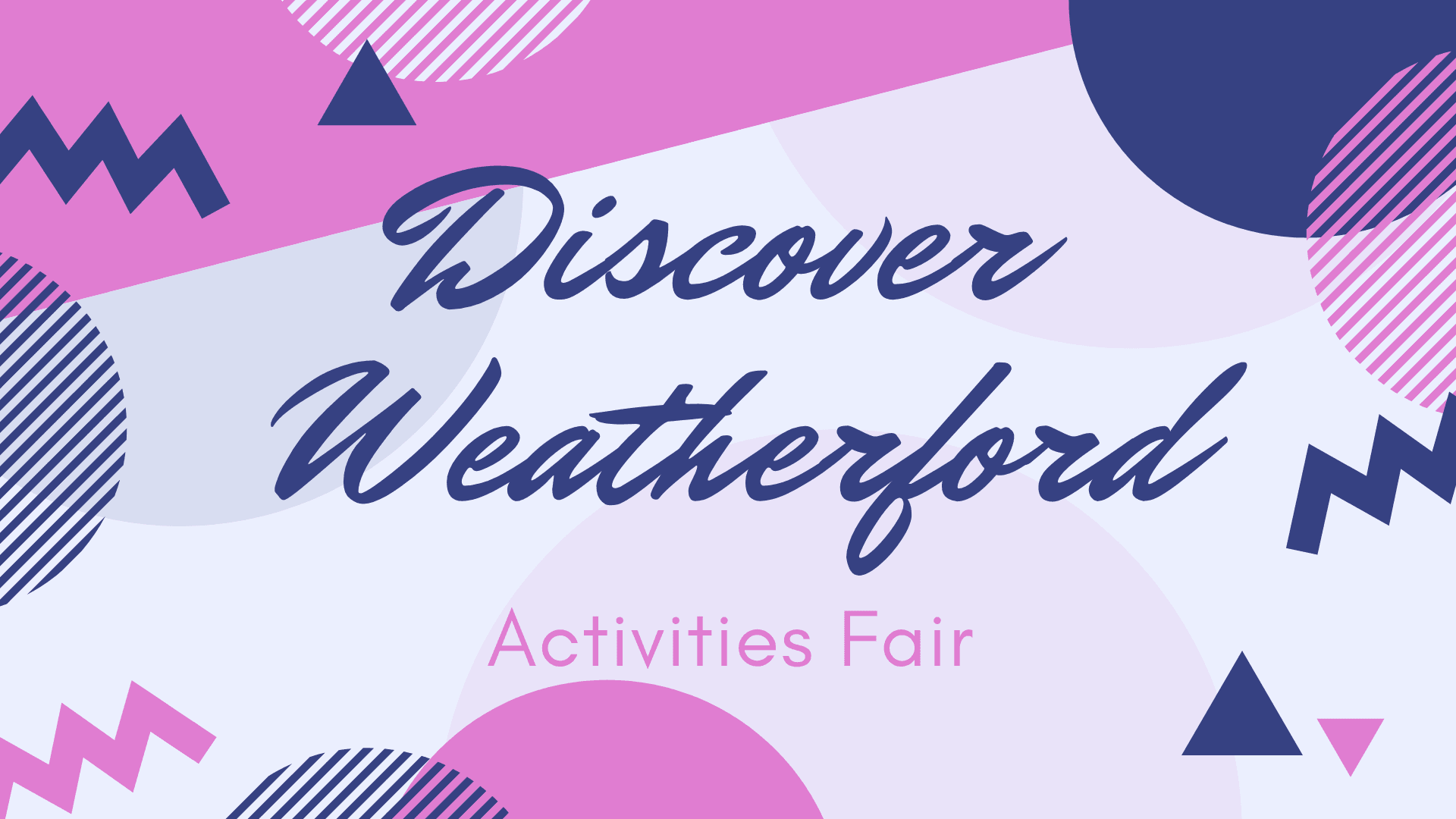 Discover Weatherford Activities Fair Image