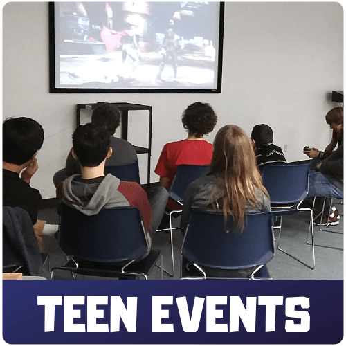 Teen Events Button Image