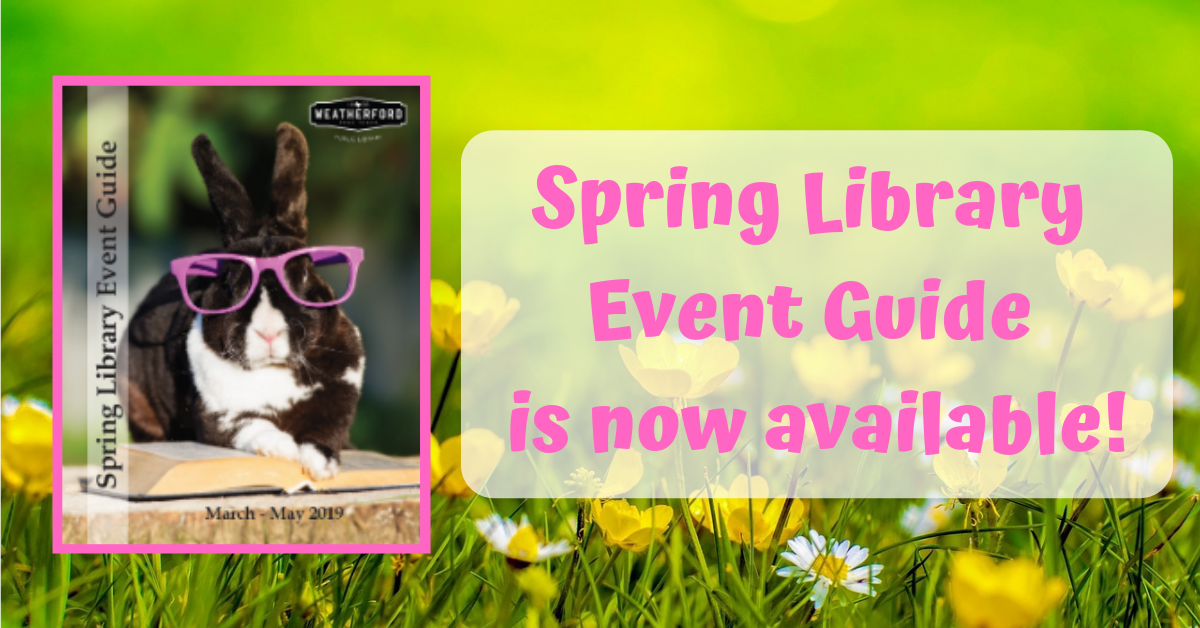 Spring Event Guide Carousel Image - Click to download PDF.