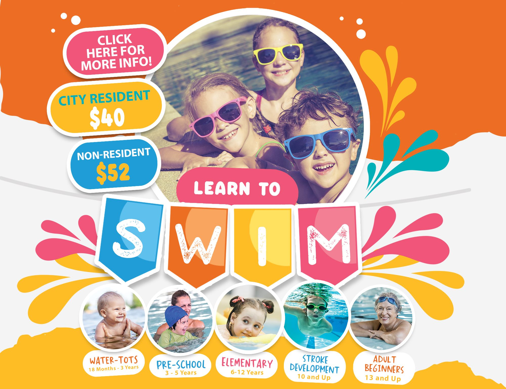 2019 Learn to Swim Website Button
