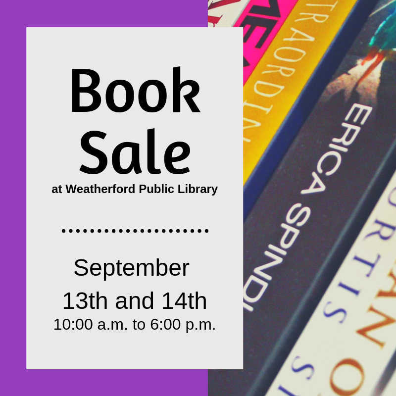Book Sale September 2019 Image
