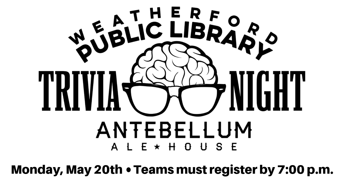 Trivia Night Carousel Image - May 20th - Click for more information.