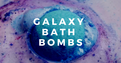 Galaxy Bath Bombs Image