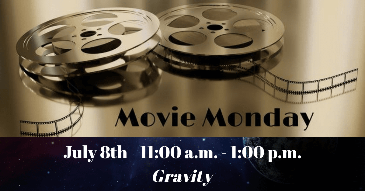 Movie Monday Carousel Image - Gravity - Click for more information.