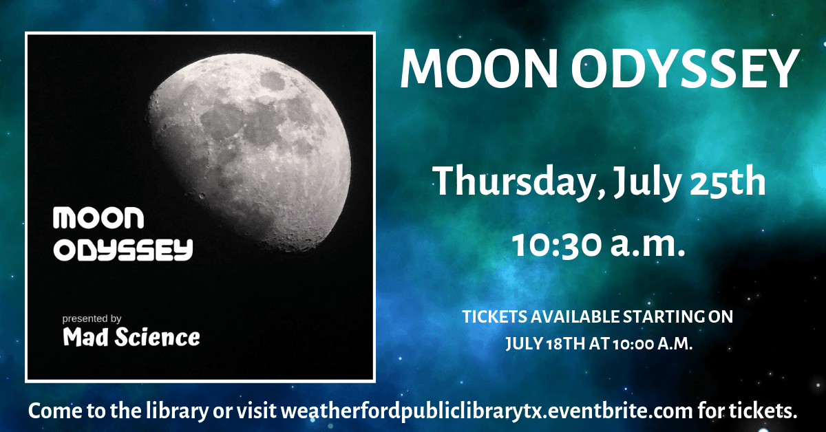 Summer Spectacular - Moon Odyssey - Click for more information.