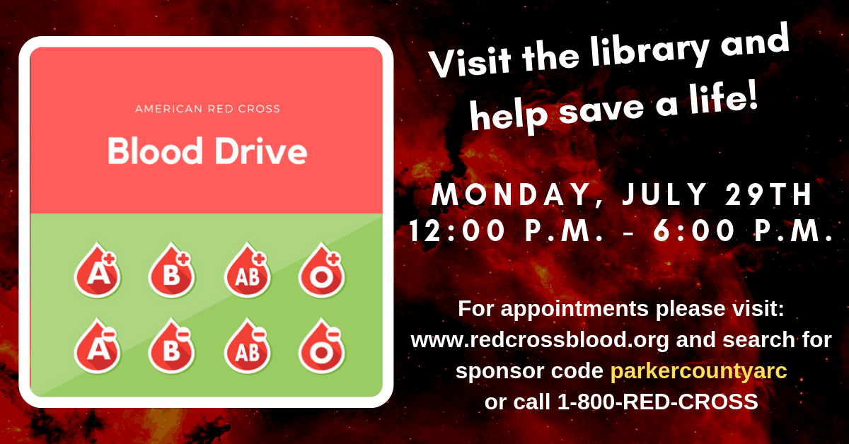 Blood Drive Carousel Image - Click for more information.