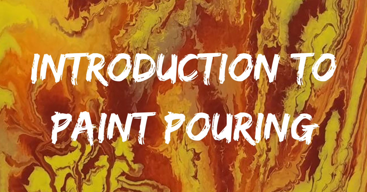 Introduction to Paint Pouring Carousel Image - Click for more information.
