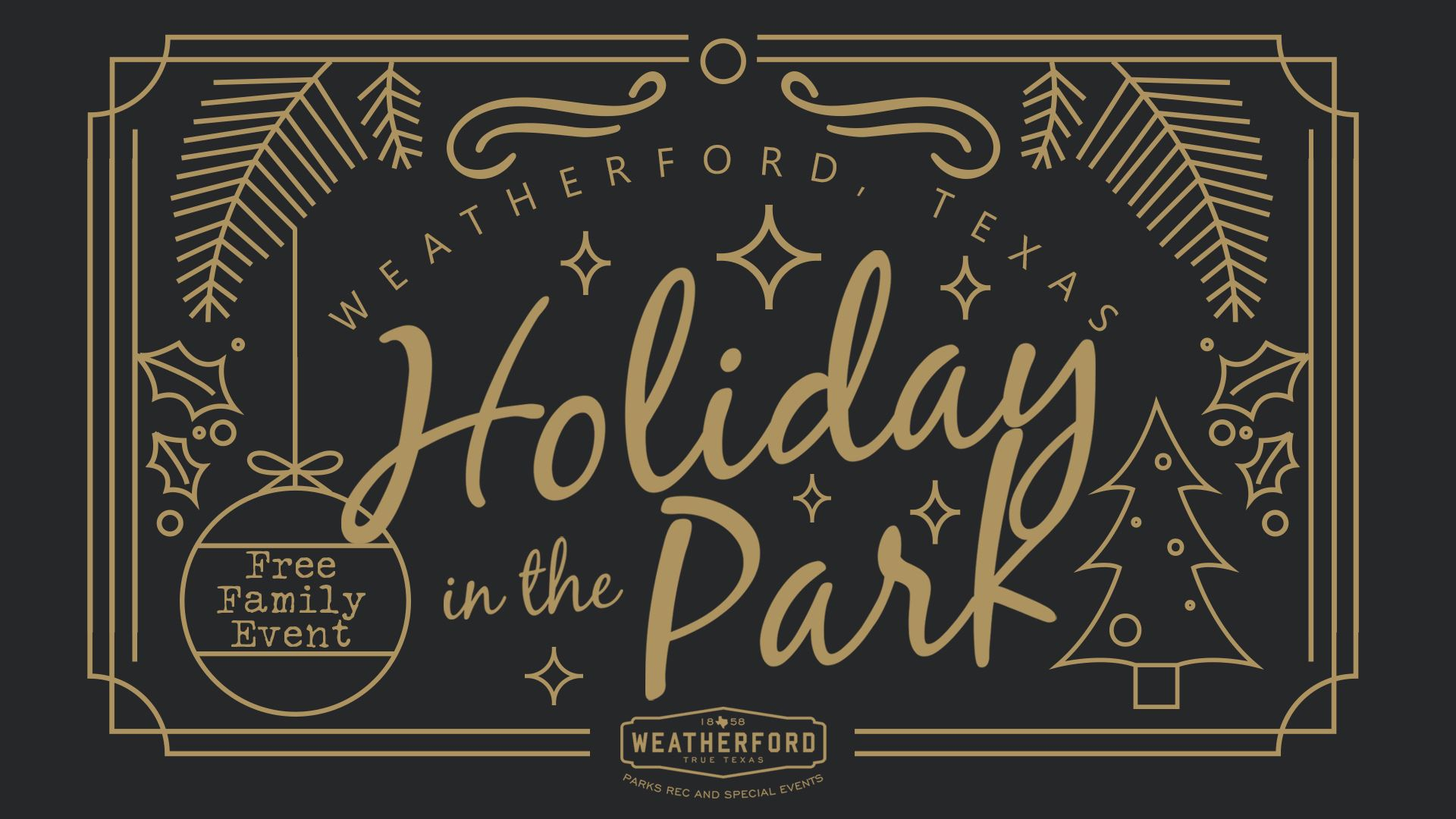 Holiday in the Park Event Facebook Image 2