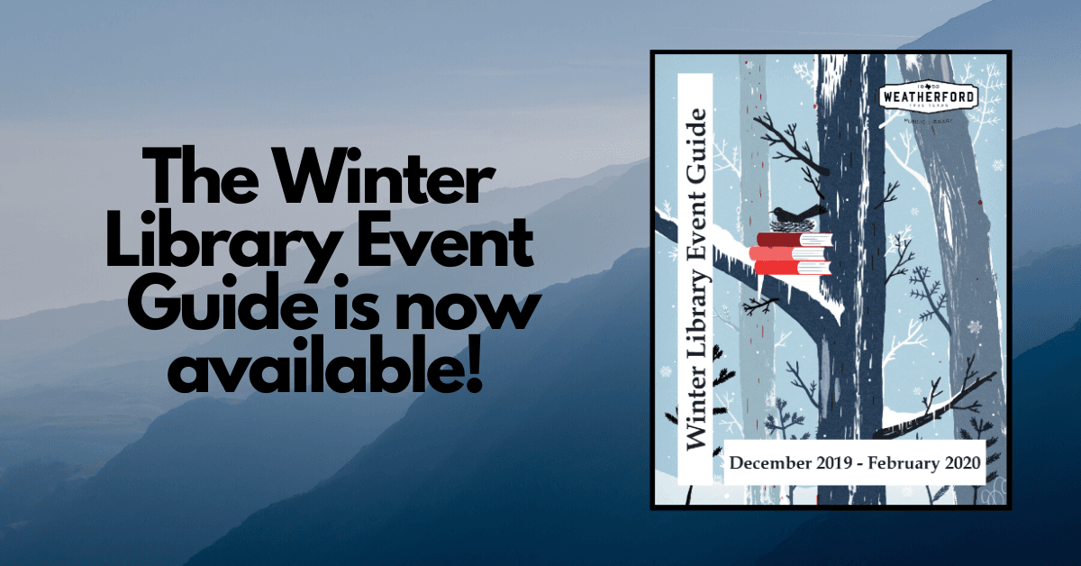 Winter Event Guide 2019-2020 Carousel Image - Click to download PDF.