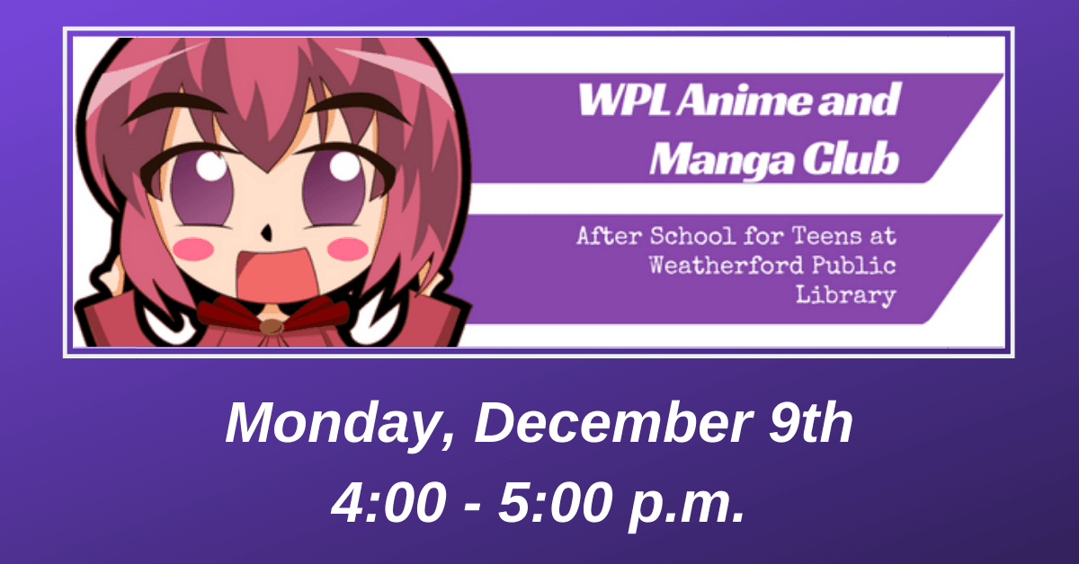 After School for Teens - WPL Anime & Manga December Carousel Image - Click for more information.