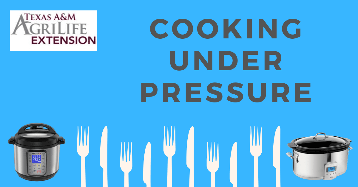 Cooking Under Pressure Event Image