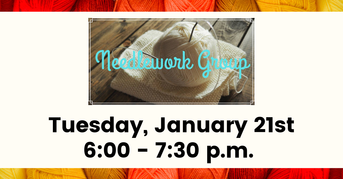 Needle Work Group January Carousel Image - Click for more information.