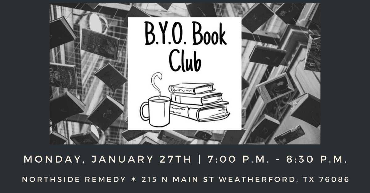 BYO Book Club January Carousel Image - Click for more information.