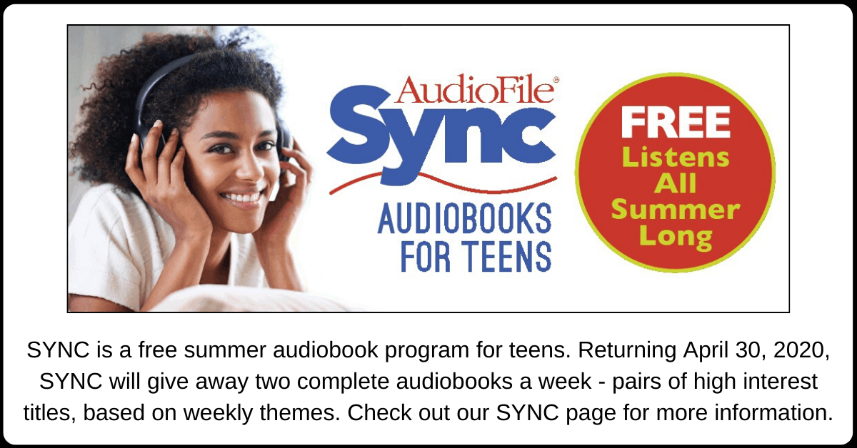 SYNC 2020 Carousel Image - Free eAudiobooks for Teens