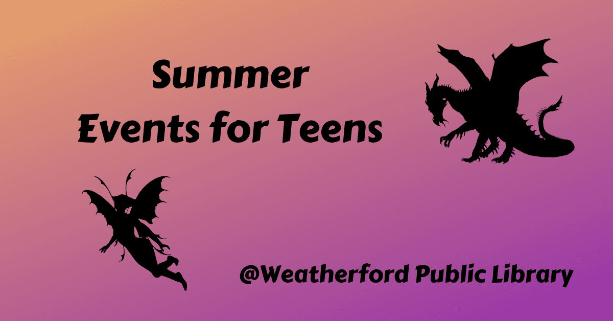 Events For Teens Graphic