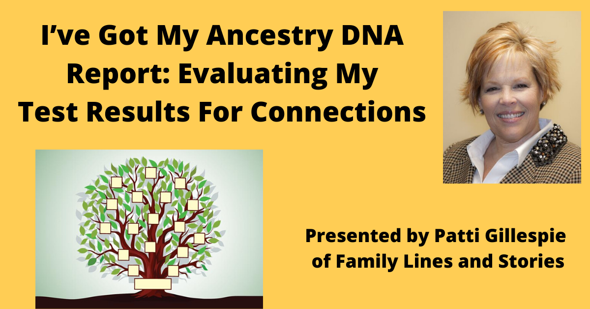 Ancestry DNA Report Event Image