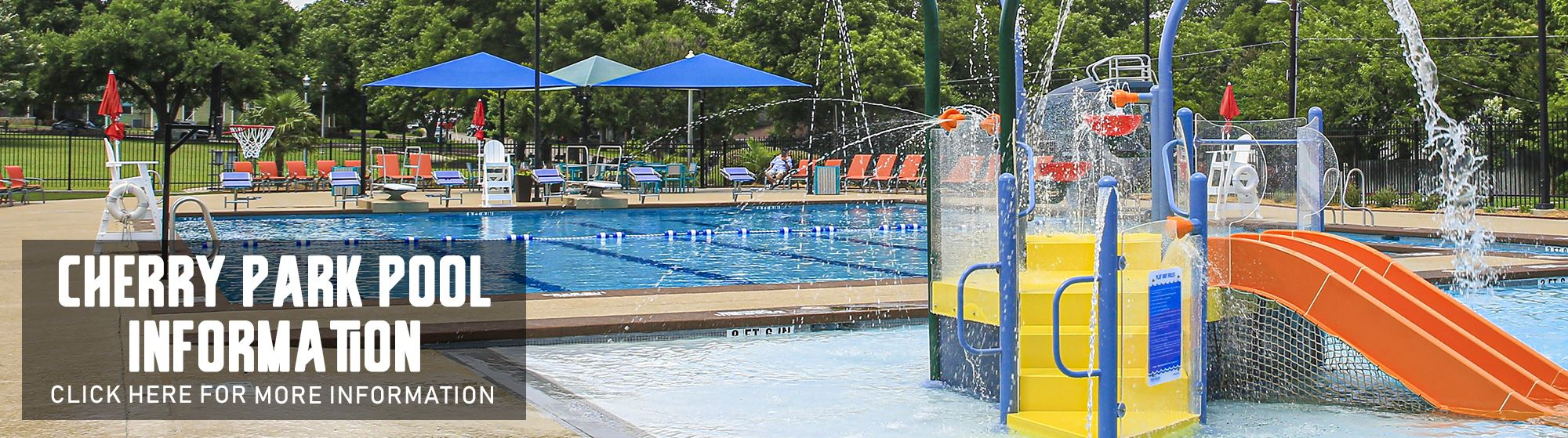 Cherry Park Pool Information