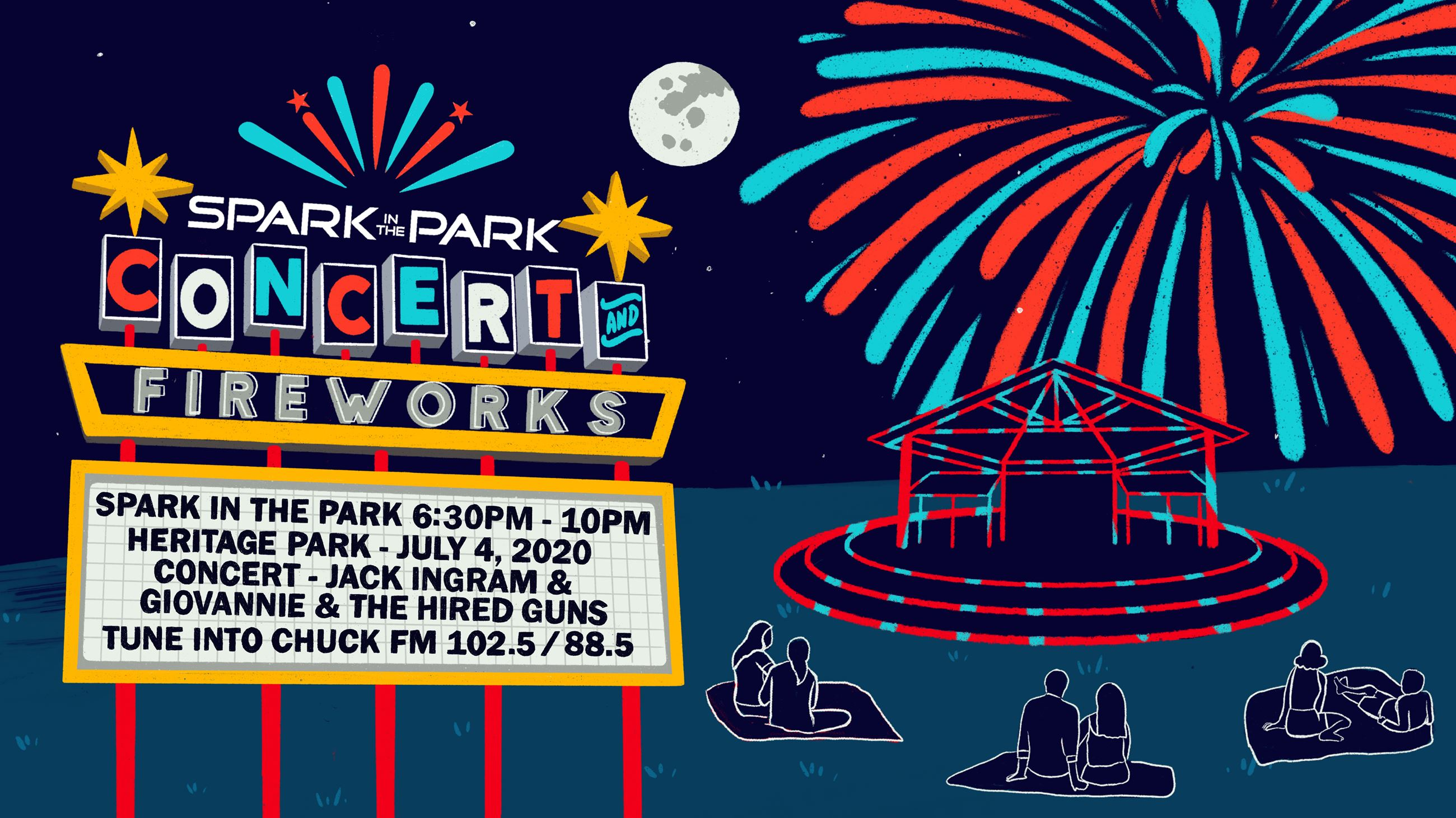 Spark in the Park Event Cover Photo