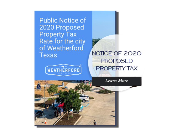 2020 Public Notice of Proposed Property Tax Rate