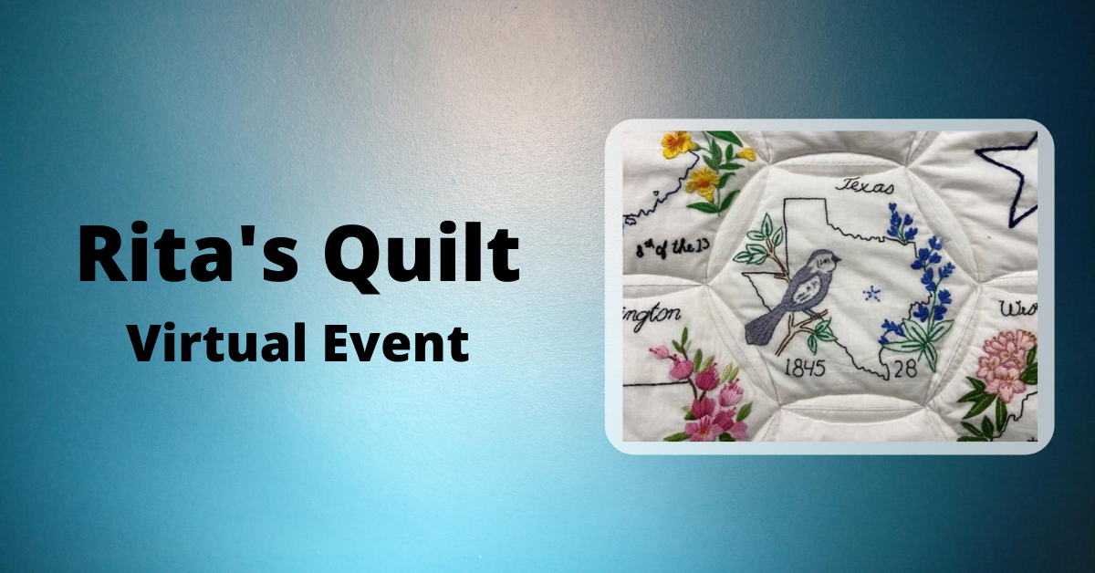 Rita's Quilt Virtual Event Image