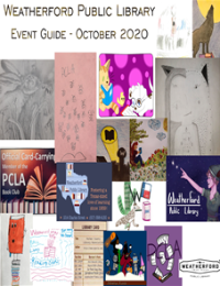 October Event Guide 2020 Image - Click to view guide.
