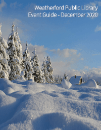 December 2020 Event Guide Image - Click to view guide.